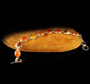 Mookaite & Carnelian Bracelet
