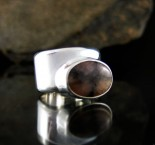 Chiastolite Ring