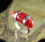 Red Aventurine Ring