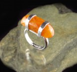 Orange Aventurine Ring