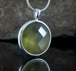 Lemon Quartz Pendant Med