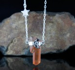 Tangerine Quartz 'Moon & Star' N/L