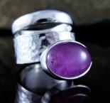 Lavender Amethyst Ring