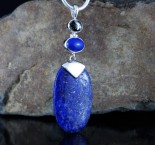 Pyrite in Magnetite & Lapis Lazuli Pdt XL