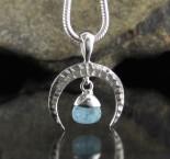 Aquamarine Pendant Sml