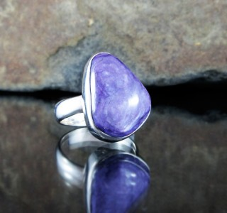 Charoite Ring