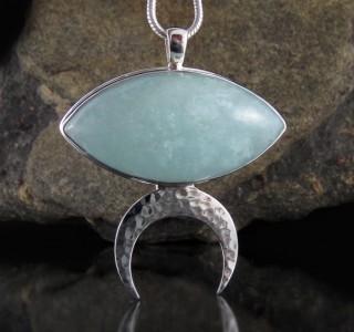 Aquamarine Pendant Lge