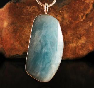 Aquamarine Pendant XL