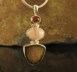 Tourmaline & Morganite & Watermelon Pdt Lge
