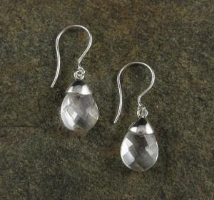 Clear Quartz Earrings