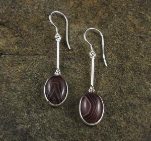Botswana Agate Earrings