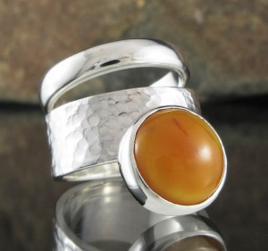 Butterscotch Amber Ring