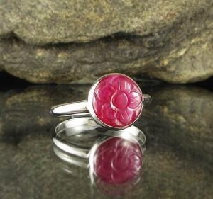 Ruby 'Rose' Ring