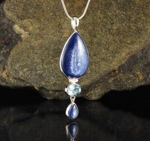 Kyanite & Blue Topaz Pdt Lge