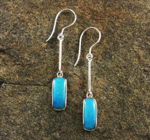Turquoise 'Sleeping Beauty' Earrings
