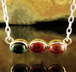 Multi-colour Tourmaline Necklace Short