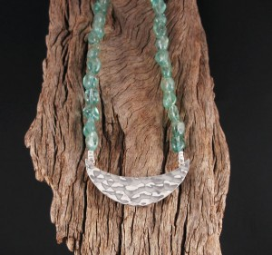 Green Apatite Necklace
