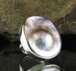 Blister Pearl Ring
