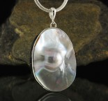 Blister Pearl Pendant Large