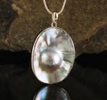Blister Pearl Pendant Large