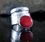 Red Coral Ring