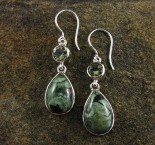 Rainforest Rhyolite & Prasiolite Earrings