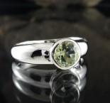 Prasiolite Ring