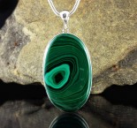 Malachite Pendant XL