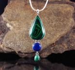 Malachite & Lapis Lazuli Pdt Lge