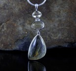 Rutilated Quartz Pendant Lge