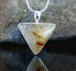 Rutilated Quartz Pendant Med