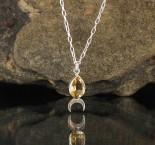 Citrine 'Moon' Necklace