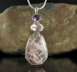 Amethyst & Rose Quartz Pdt Med