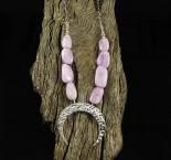 Kunzite 'Moon' Necklace