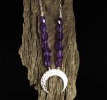 Amethyst 'Moon' Necklace