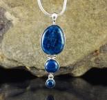 Blue Apatite Pendant Lge