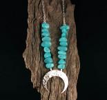 Amazonite 'Moon' Necklace