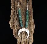 Aust. Kyanite 'Moon' Necklace