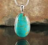 Arizona Turquoise Pendant Med