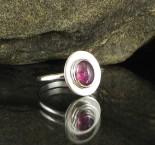 Mauve Tourmaline Ring