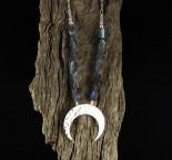 Labradorite 'Moon' Necklace