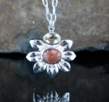 Sunstone & Citrine Necklace