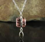 Rhodonite & Smoky Quartz Necklace