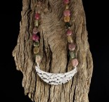 Bi-colour Tourmaline Necklace
