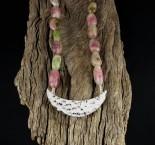 Bi-colour Tourmaline Necklace