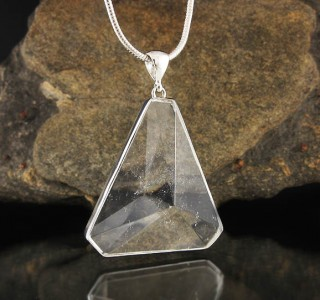Clear Quartz Pendant Lge