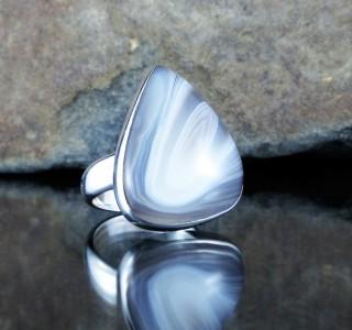 Botswana Agate Ring