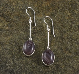 Botswana Agate Earrings