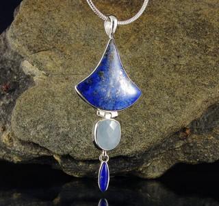 Lapis Lazuli & Aquamarine Pdt Lge