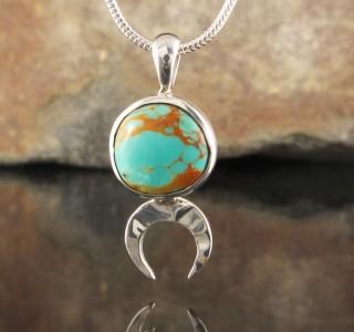 Arizona Turquoise Pendant XS
